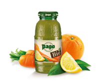 Pago Organic Orange Carrot Lemon